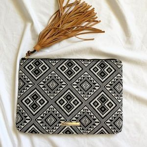 Copper St Boho Aztec Clutch Purse